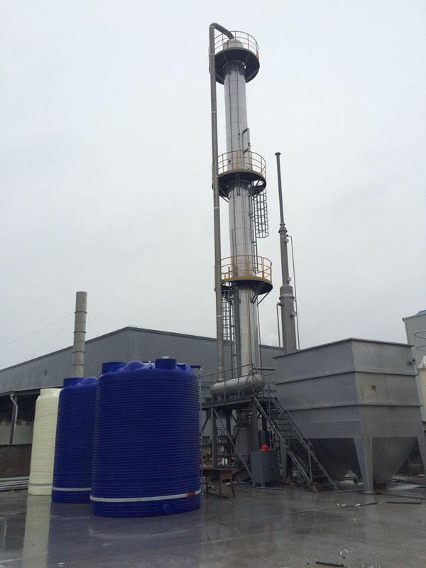 高效汽提精馏回收氨水系统